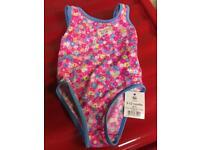 New 9-12 months girls swimming costume