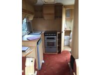 COACHMAN PASTICHE CARAVAN 470/2 . FSH .2 Berth . INCLUDES FULL ISABELLA AWNING AND MOTOR MOVER .