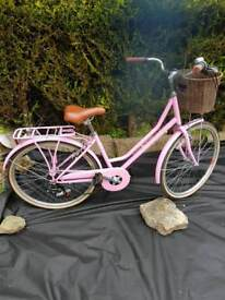 Ladies traditional bicycle