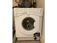 Washing machine - excellent condition, barely used - Hotpoint