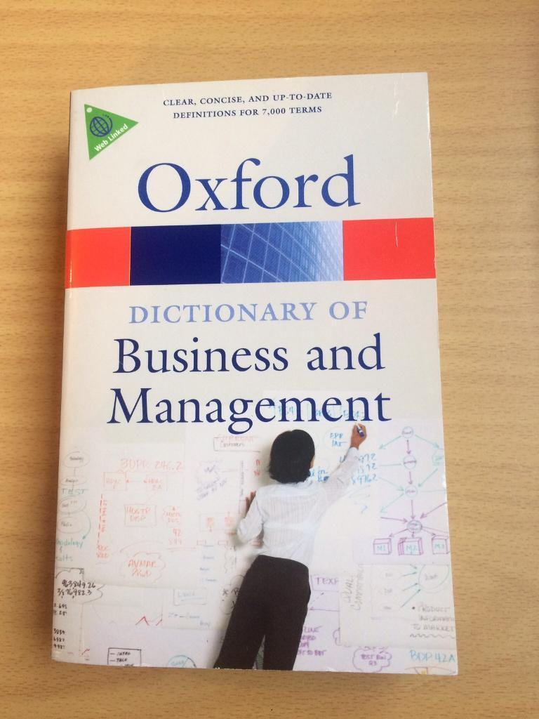Oxford dictionary of Business and Managment