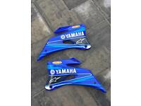 YAMAHA YZ 250 450 F YZF 2006 to 2009 COMPLETE PLASTICS models in vgc