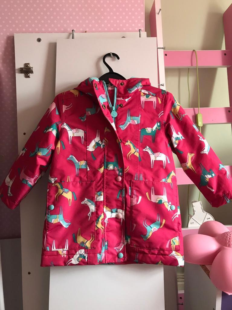 Girls joules coat age 5