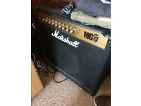 Marshall big 100 watt fx amplifier bargain!!