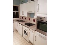 Complete kitchen £500 - 12 units, dishwasher, washing machine, oven and hob - for sale