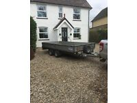 Ifor Williams dropside trailer 2016 14x6.6