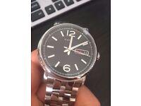 Marc Jacobs Fergus Men's Silver Watch