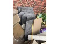 Various size Tonner roof slates