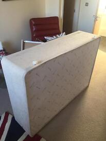 Superb condition double divan bed with 2 draws