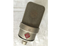 NEUMANN TLM49 CONDENSER MIC, MIC STAND, SHOCK MOUNT AND CABLES FULL PACKAGE BARGAIN