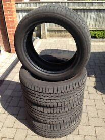 4x Snow Grabber snow tyres