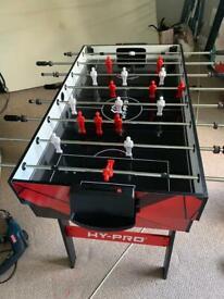 Football and pool table