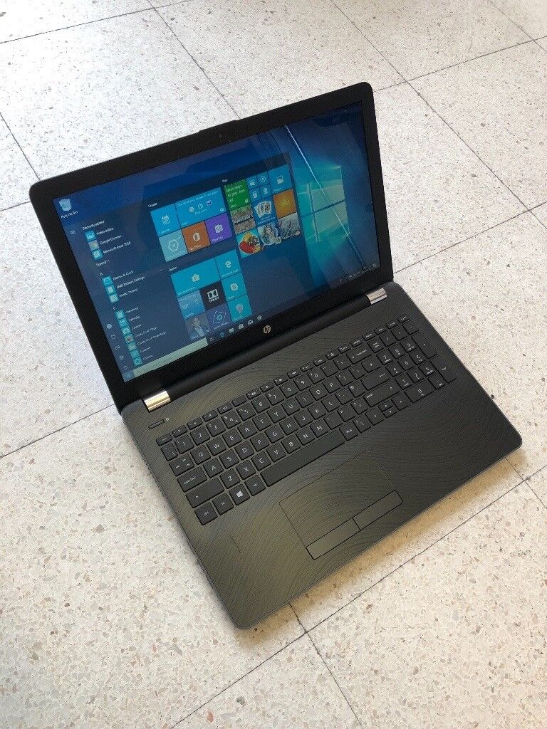 Laptop HP AMD A10 R5 SSD Drive 800gb Ram Windows 10 MS Office Free Delivery Northampton