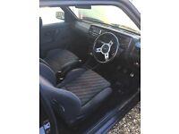 Vw Golf mk2 3 door black