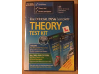 DVSA Official Complete Theory Test Kit (2x DVD)