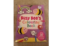 Colouring book - Busy Bee