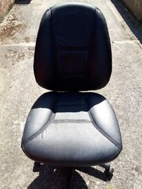 Leather office chair for sale.