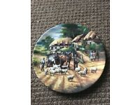 Wedgwood 'herding the sheep' country days plate