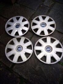 "4 Ford Wheel Trims 16"""