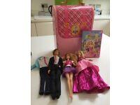 Barbie princess charm school play set , dolls and DVD