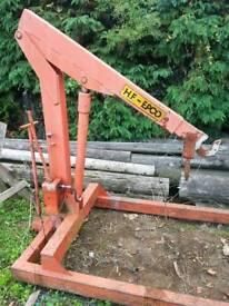 2 tonne Hydraulic crane