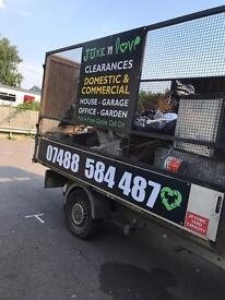 Rubbish & Waste, Home & Garden, Office & Garage Clearances in Tottenham Wood Green London