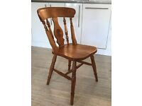 Solid Pine Farmhouse Kitchen/Dining Chair