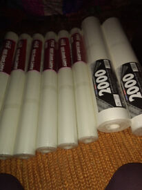 8 Roll's of lining paper brand new
