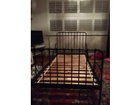 Ikea child's extendable cast iron bed