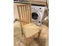 Set of 4 solid Beechwood Dining Chairs