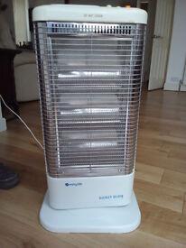 Easy life oscillating, portable halogen heater