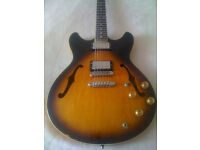Vintage 1981 Ibanez AS 100 Electric Guitar for sale in Bournemouth Dorset