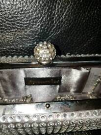 diamonte CLUTCH bag from accessories
