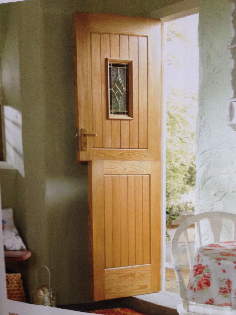 Stable Door Wickes Oak Exterior Stable Door 33inches Wide In