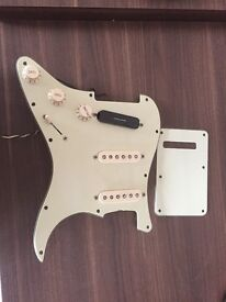 Fender USA loaded Stratocaster pickguard scratchplate