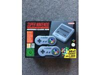 SNES Classic Mini New (boxed, never used)