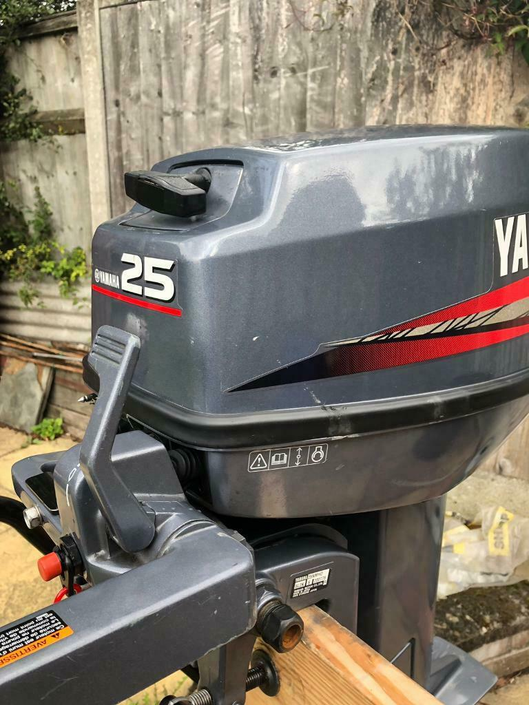 YAMAHA 25HP 2 STROKE OUTBOARD ENGINE JUST 48 KG SHORT SHAFT | in South  Woodham Ferrers, Essex | Gumtree