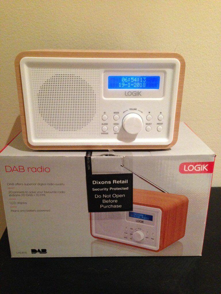 Radio Logik Dab Radio Lhdr15 In Paisley Renfrewshire