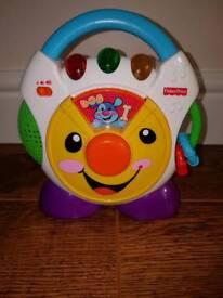 Fisher price nursery rhyme cd player