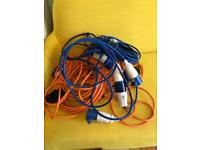 Mixed film cable