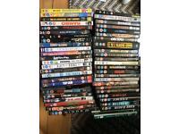 Over 50 DVDs and Blu Ray fantastic selection