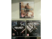 Call of Duty MW2, Black ops 1 & 2