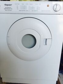 EXCELLENT CONDITION - HOTPOINT REVERSOMATIC DRYER DE LUXE TS12