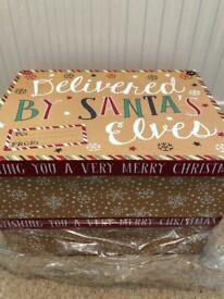 2 Christmas Eve/gift boxes
