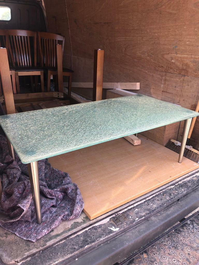 Shattered Gl Coffee Table Bargain Free Local Delivery In Manchester City Centre Gumtree
