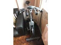 """GYM MASTER"""" Heavy Duty Exercise Spin Bike With 20kg Flywheel, Pulse, distance reader etc"""