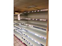 Shop Shelving, Fridge, Freezer, Hot Cabinet, Snack Cabinet