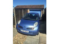 Nissan Micra 1.2 16v S 3dr LOW mileage, newer shape