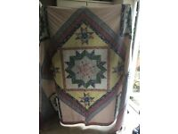Double quilted bed spread for sale in Woking