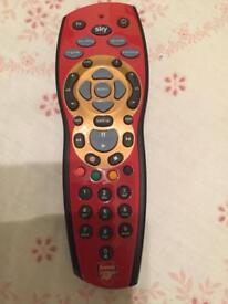 Arsenal sky had + remote control